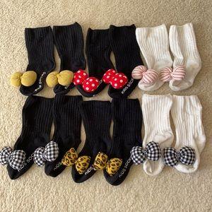 Baby Girl Socks 6 pairs